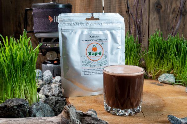 Какао на коров'ячому молоці, Харчі ТМ