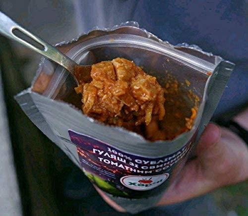 100% Сублімат. Гуляш зі свинини з томатним соусом