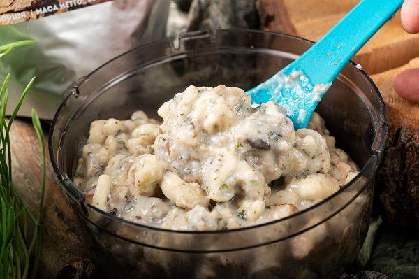100% Cублімат. Паста з копченою куркою та грибами у соусі Бешамель